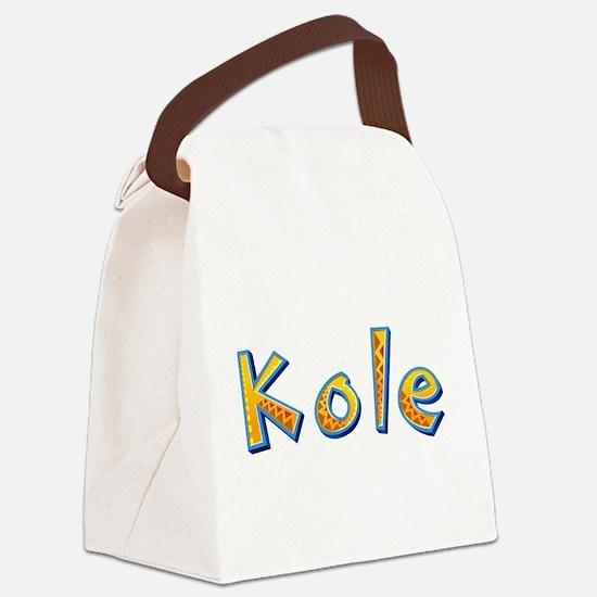 Kole Giraffe Canvas Lunch Bag