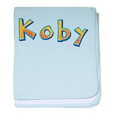 Koby Giraffe baby blanket