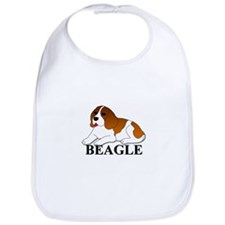 Cartoon Beagle Bib