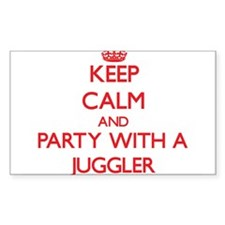 Keep Calm and Party With a Juggler Decal