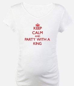 Keep Calm and Party With a King Shirt