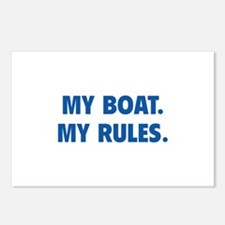My Boat. My Rules. Postcards (Package of 8)