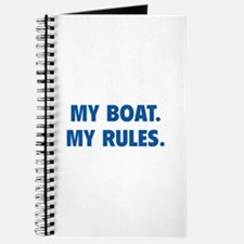 My Boat. My Rules. Journal