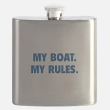 My Boat. My Rules. Flask