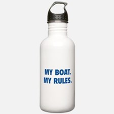 My Boat. My Rules. Water Bottle