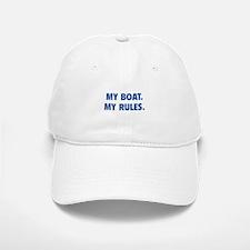 My Boat. My Rules. Baseball Baseball Cap