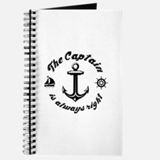 The Captain Is Always Right Journal