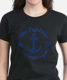 The Captain Is Always Right Tee