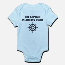 The Captain Is Always Right Onesie
