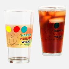 NURSE WEEK CARD 2 Drinking Glass