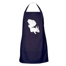 Squirrel Silhouette Apron (dark)