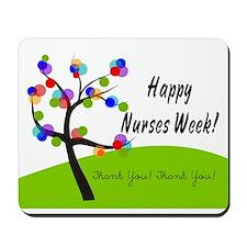Nurse Week card 1 Mousepad