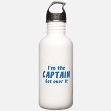 I'm The Captain Get Over It Water Bottle