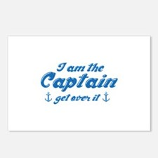 I'm The Captain Get Over It Postcards (Package of