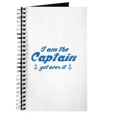 I'm The Captain Get Over It Journal