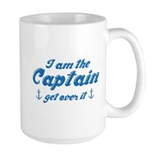 I'm The Captain Get Over It Mug