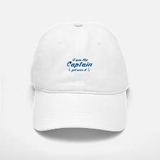 I'm The Baseball Baseball Captain Get Over It Baseball Baseball Cap