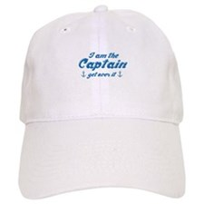 I'm The Baseball Captain Get Over It Baseball Cap
