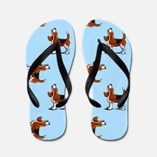 Beagle Bay Light Blue Flip Flops