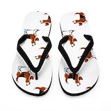 Beagle Flip Flops