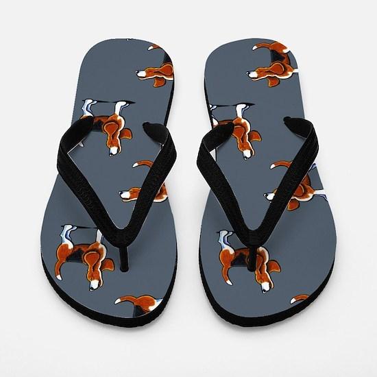 Beagle Bay Dark Blue Flip Flops