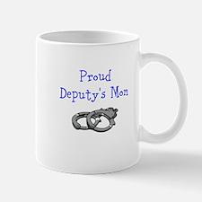 Proud Deputys Mom Mugs