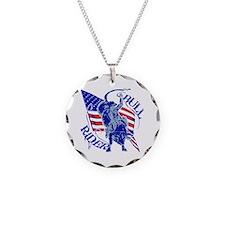 American Bull Rider Necklace