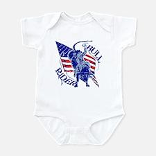 American Bull Rider Infant Bodysuit