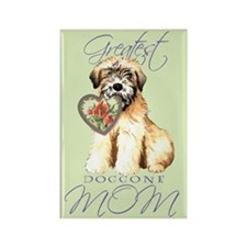 Wheaten Mom Rectangle Magnet