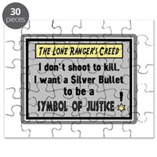 The Lone Rangers Creed Puzzle