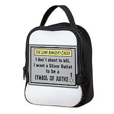 The Lone Rangers Creed Neoprene Lunch Bag