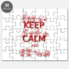 KEEP CALM and SIGN -in ASL Puzzle