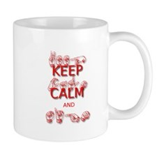 KEEP CALM and SIGN -in ASL Mugs
