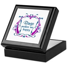 Bingo Happiness Keepsake Box