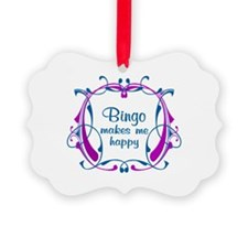 Bingo Happiness Ornament