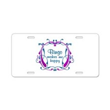 Bingo Happiness Aluminum License Plate