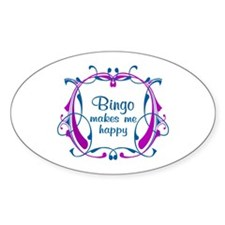 Bingo Happiness Decal