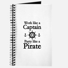 Work Like A Captain Party Like A Pirate Journal