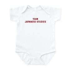 Team JAPANESE STUDIES Infant Bodysuit