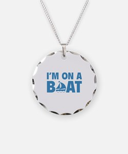 I'm On A Boat Necklace