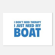 I Just Need My Boat Postcards (Package of 8)