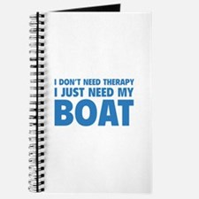 I Just Need My Boat Journal