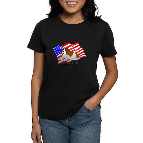 Beagle USA Women's Dark T-Shirt