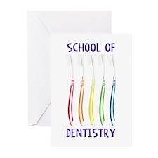 School Of Dentistry Greeting Cards