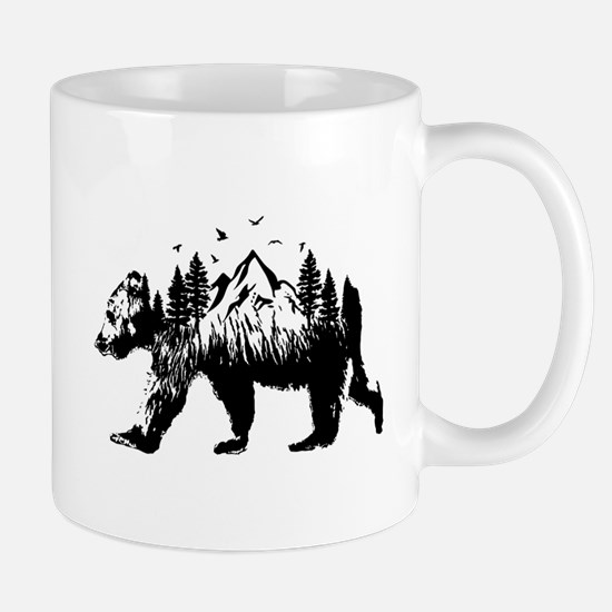 Bear Woods Mugs