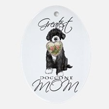 PWD Mom Oval Ornament