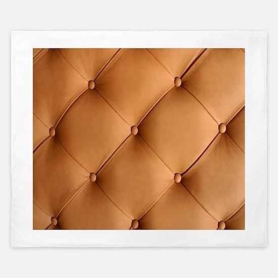 Leather Texture King Duvet