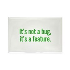 It's not a bug, it's a feature. Rectangle Magnet (