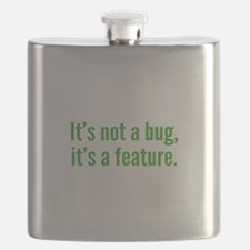 It's not a bug, it's a feature. Flask