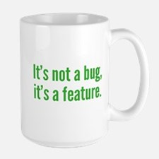 It's not a bug, it's a feature. Mug